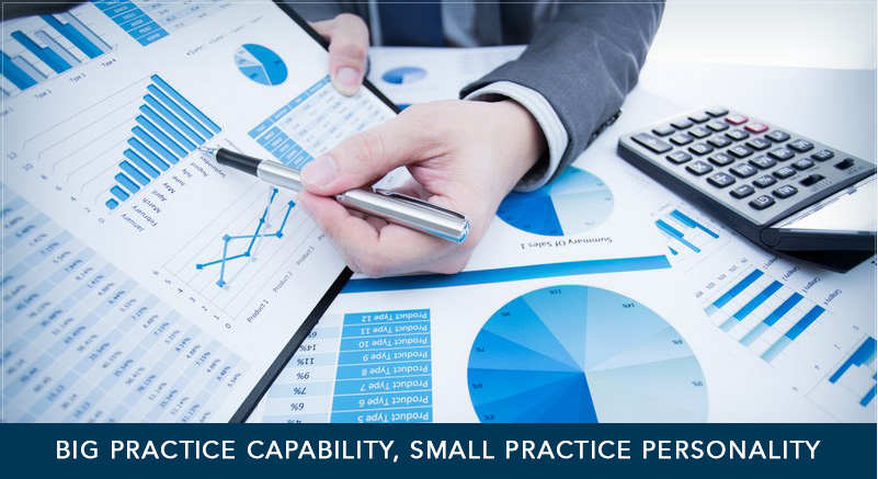 Big practice capability, small practice personality